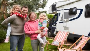 family with full time rv insurance